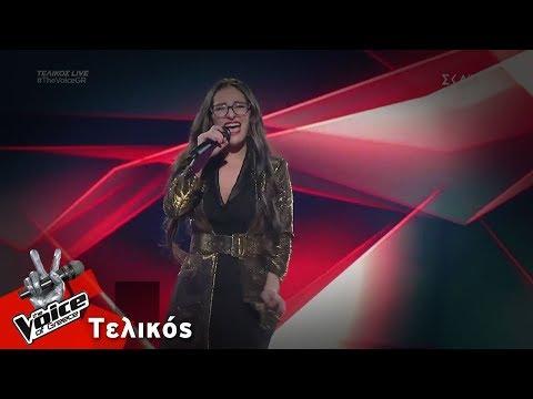 Κλαυδία Παπαδοπούλου - It's a Man's World   Τελικός   The Voice of Greece