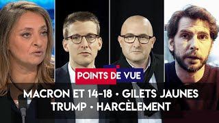 Macron, gilets jaunes, Trump, harcèlement scolaire : Points de vue du 8 novembre