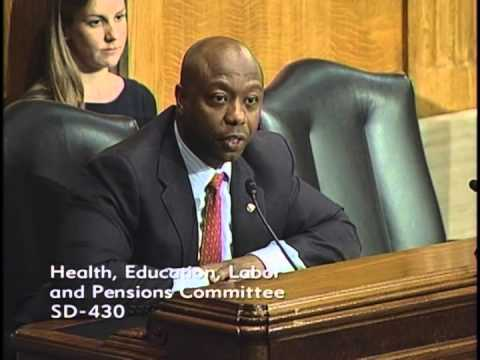Senator Tim Scott Questions NLRB Nominees in Senate Committee
