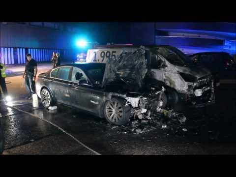 13.09.2016 Endnu en bil i brand, Glostrup