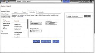 Google Custom Search Engine Tutorial