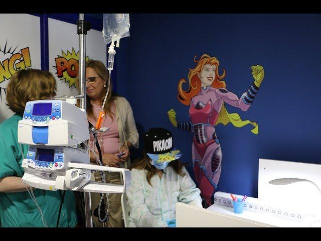Un 'Salón de los Héroes' para los niños en tratamiento oncológico