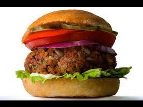 Best Vegetarian Recipes l Lentil Walnut Veggie Burgers