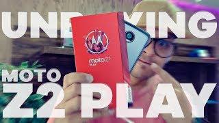 lenovo moto z2 play unboxing e primeiras impresses