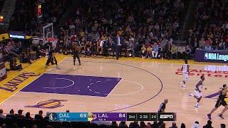 3rd Quarter, One Box Video: Los Angeles Lakers vs. Dallas Mavericks