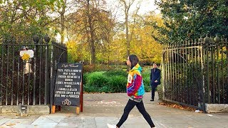 LONDON WALK | Holborn Station to Bloomsbury Square to Russell Square | England