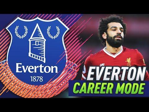 MERSEYSIDE DERBY!!! FIFA 18 EVERTON CAREER MODE #6