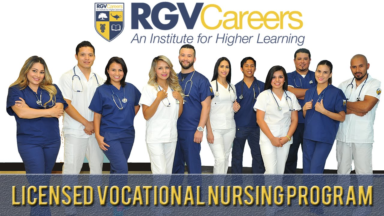 About Rgv Careers Licensed Vocational Nursing Degree Youtube