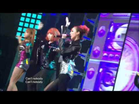2NE1 - Can't Nobody & Go Away 101231