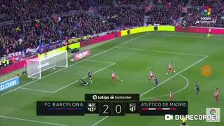 Barcelona vs atlético del Madrid