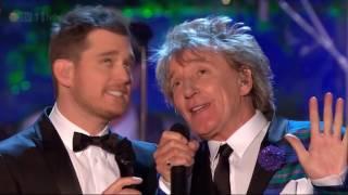 Winter Wonderland - Rod Stewart & Michael Buble - Christmas