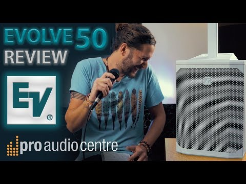 Electro-Voice Evolve 50 White - LOUDEST PORTABLE PA WE'VE TESTED