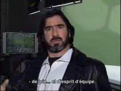 Eric cantona is most known for his skill on the soccer field. Joga Bonito Cantona Youtube