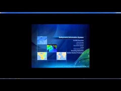 Webinar - Managing & serving bathymetry data in the cloud (15 September 2011)