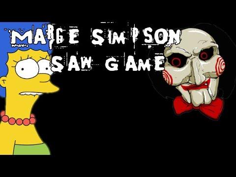 Marge Simpson Saw Game - [English Walkthrough]