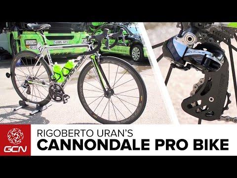 Rigoberto Uran's Cannondale SuperSix Evo Hi-MOD