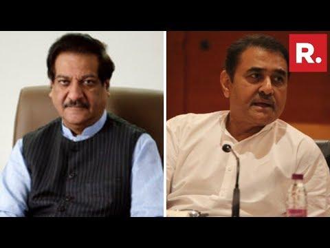 Congress' Prithviraj Chavan & NCP's Praful Patel Display Confidence Over Maharashtra Floor Test