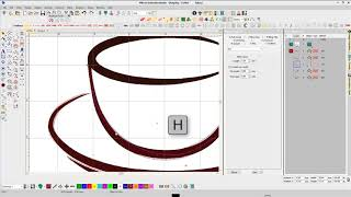 Simple embroidery digitizing tutorial in Wilcom EmbroideryStudio