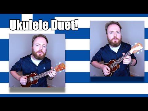 ZORBA THE GREEK - ZORBA'S DANCE *Ukulele Duet Tutorial - Fingerpicking & Chords!*