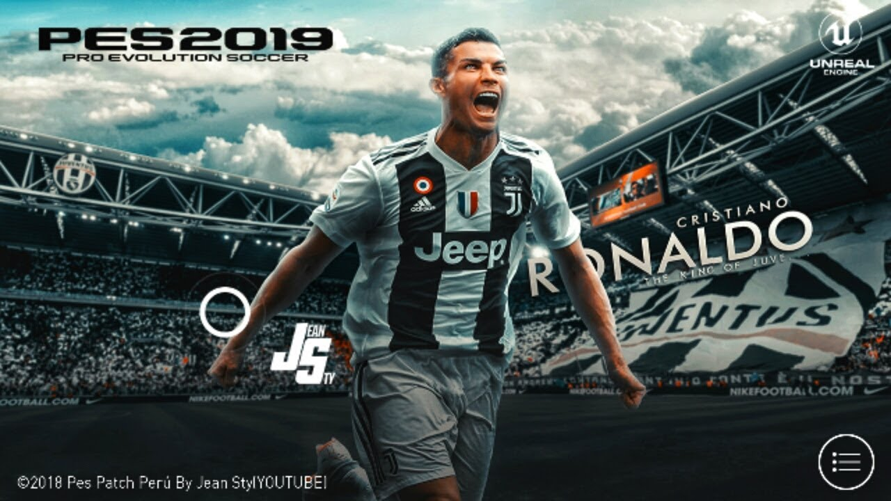 PES 2019 Mobile V3 0 1 New Patch CR 7 Android 900MB original Logos and Kits  Best Graphics