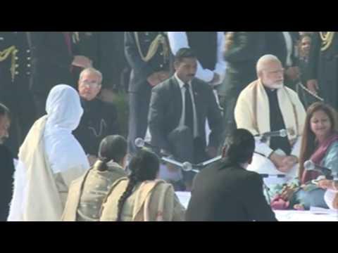 Mahatma Gandhi Death Anniversary: PM Modi, Pranab Mukherjee Pay Homage