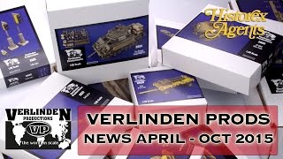 Verlinden Productions New Releases April to October 2015