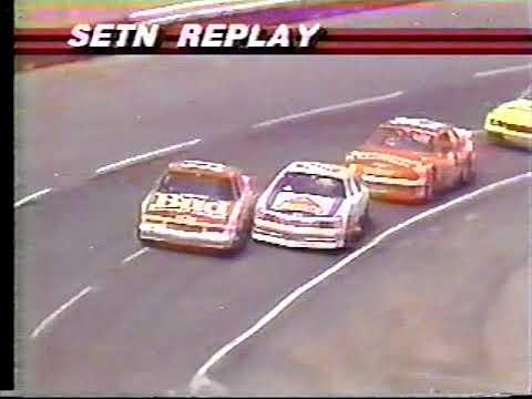 1987 NASCAR Winston Cup Series Wrangler Jeans Indigo 400