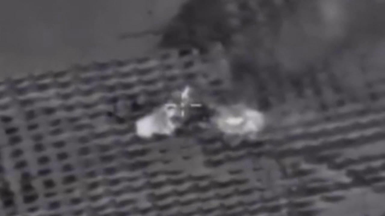 Минобороны России опубликовало видео ударов по боевикам в окрестностях Идлиба