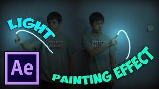 Светопись эффект в After Effects / Light Painting Effect в After Effects