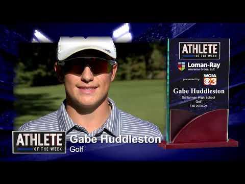 Athlete of the Week Gabe Huddleston - Schlarman High School - Golf