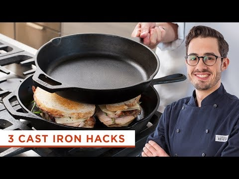 3 Cast Iron Skillet Hacks That Will Make Your Cast Iron Even More Versatile Than it Already is