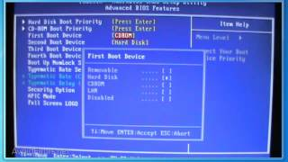 How To Change First Boot Device in BIOS to Boot From CD/DVD