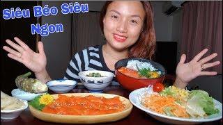 🇯🇵Tan Chảy Tô Cơm Sashimi Cá Hồi,Trứng Gà Sống, Cá Cơm - Siêu Béo Siêu Ngon  #307