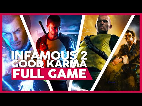 Infamous 2 | Full Playthrough  (PS3 |  HD | No Commentary )