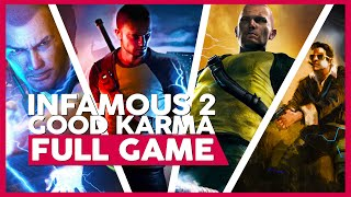 Infamous 2 (Good Karma) | Full Gameplay/Playthrough | PS3 | No Commentary