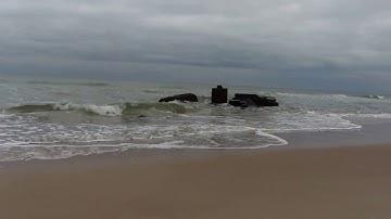 Die Ostsee bei Sellin auf Rügen im Frühjahr