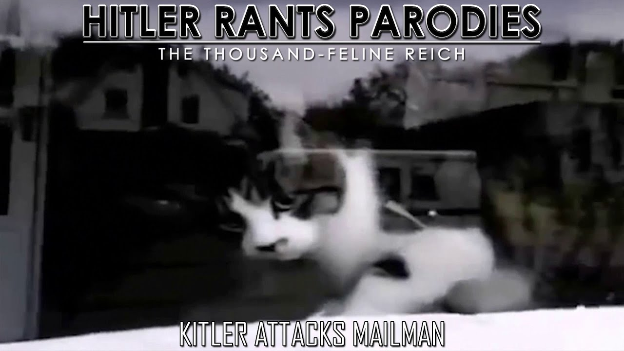 Kitler attacks mailman