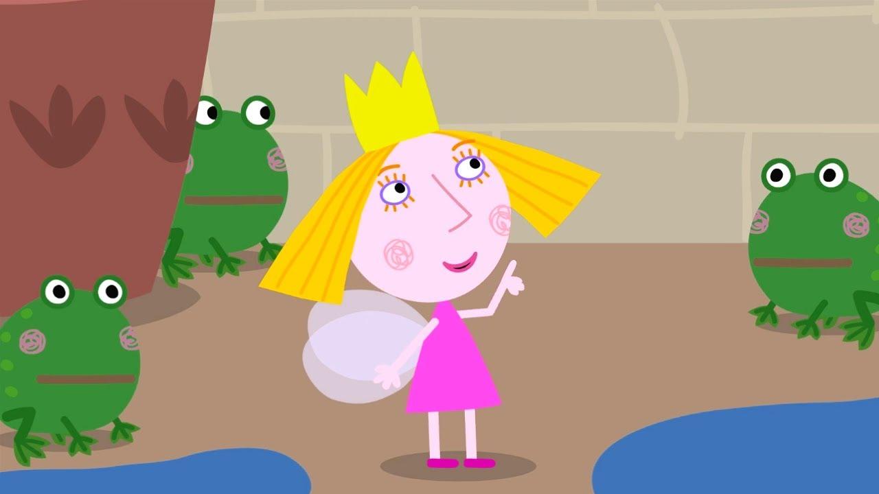 Ben y Holly en Español 🐸🐸 Renacuajos y Ranas 🐸🐸 Dibujos Animados Divertidos para Niños