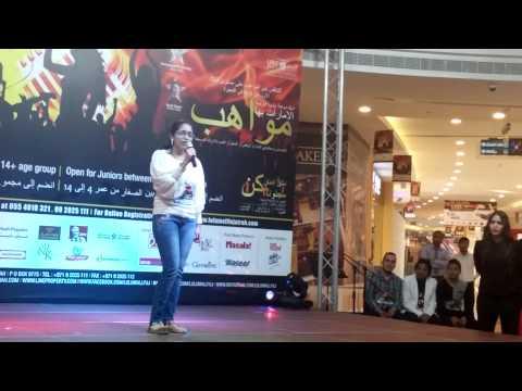 UAE Got talent- Priyanka's performance