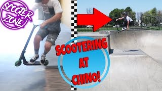 Visiting New Scooter Zone & Riding Chino