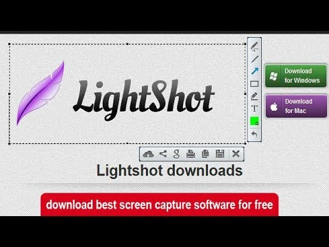 How to download best screen capture software for free/lightshot
