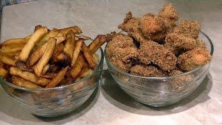 Картошка фри и наггетсы готовим вместе