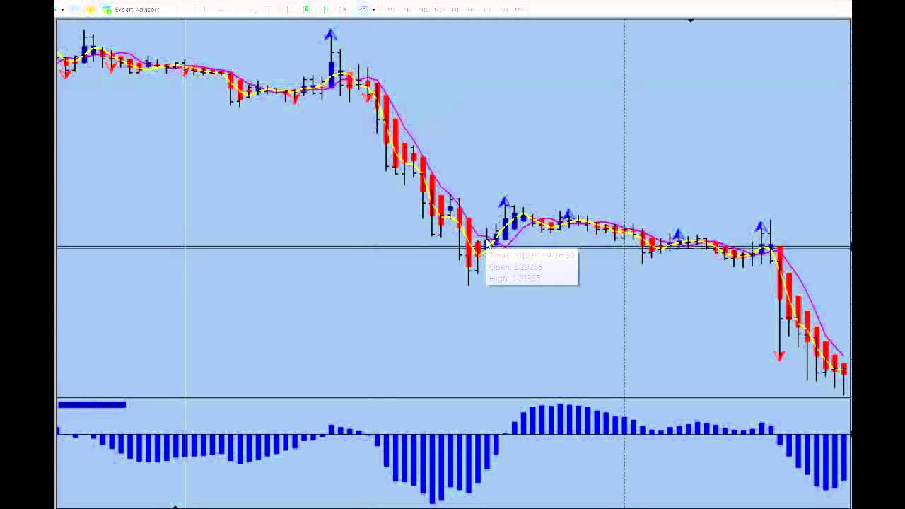 How to determine trend in forex