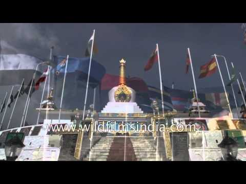 Honouring India's bravest best: Tawang War Memorial in Arunachal Pradesh, India