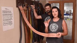 The Starting Strength Belt with Blake and Katie from Dominion Strength