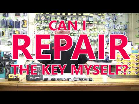 Can I Repair My Broken Car Key Myself?
