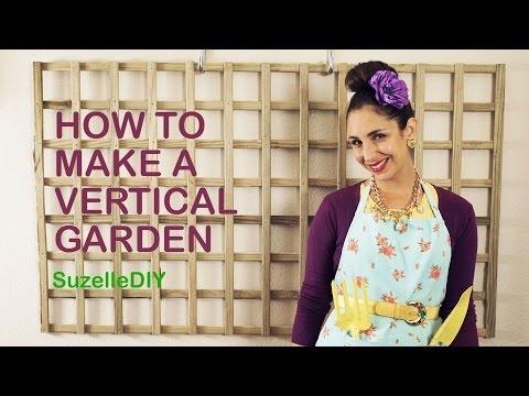 How To Make Vertical Garden