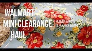 Walmart Clearance Mini Haul October 2018