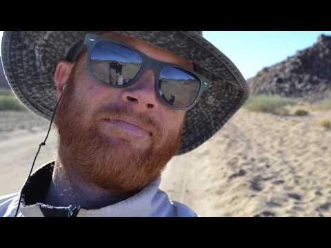 Cycling Africa | Cycling Alone Through the Namib Desert | PCT VLOG #4