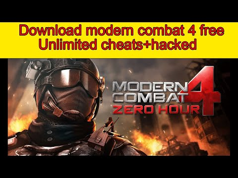 How download modern combat 4 free v1.2.3e apk mod+data on android 2020